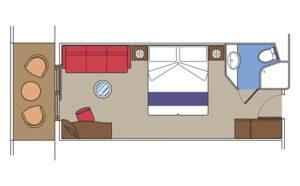 MSC-Cruises-MSC-Fantasia-MSC-Splendida-MSC-Preziosa-MSC-Divina-schip-cruiseschip-categorie B1-B2-B3-Balkonhut-diagram