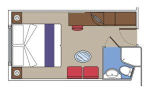 MSC-Cruises-MSC-Fantasia-MSC-Splendida-MSC-Preziosa-MSC-Divina-schip-cruiseschip-categorie O1-O2-buitenhut-beperkt zicht-diagram