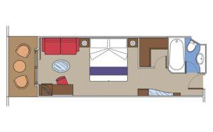 MSC-Cruises-MSC-Fantasia-MSC-Splendida-MSC-Preziosa-MSC-Divina-schip-cruiseschip-categorie YC1-YCP-Yacht-CLub-Grand-Deluxe-Suite-diagram