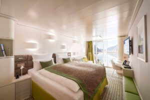 Hapag Lloyd-Hanseatic Nature-schip-Cruiseschip-Categorie 4-6-7-8-balcony cabin