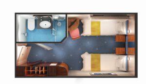 Norwegian-cruise-line-Norwegian-Star-schip-cruiseschip-categorie IA-IB-IF-IX-i4-binnenhut-familie-diagram