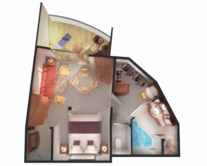 Norwegian-cruise-line-Norwegian-Sun-schip-cruiseschip-categorie SG-Penthouse-diagram