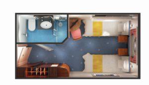 Norwegian-cruise-line-Norwegian-star-schip-cruiseschip-categorie OK-OX-OF-buitenhut-patrijspoort-beperkt zicht-diagram