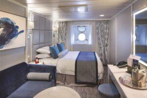 Oceania Cruises-Oceania-Insignia-Regatta-Nautica-Sirena-schip-Cruiseschip-Categorie D-buitenhut met patrijspoort