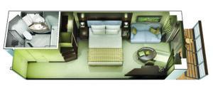 Oceania Cruises-Oceania-Marina-Riviera-Schip-Cruiseschip-Categorie A1-A2-A3-A4-B1-B2-B3-B4-Concierge-Level-Veranda-diagram