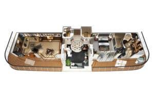 Oceania Cruises-Oceania-Marina-Riviera-Schip-Cruiseschip-Categorie Os-Owner's Suite-diagram