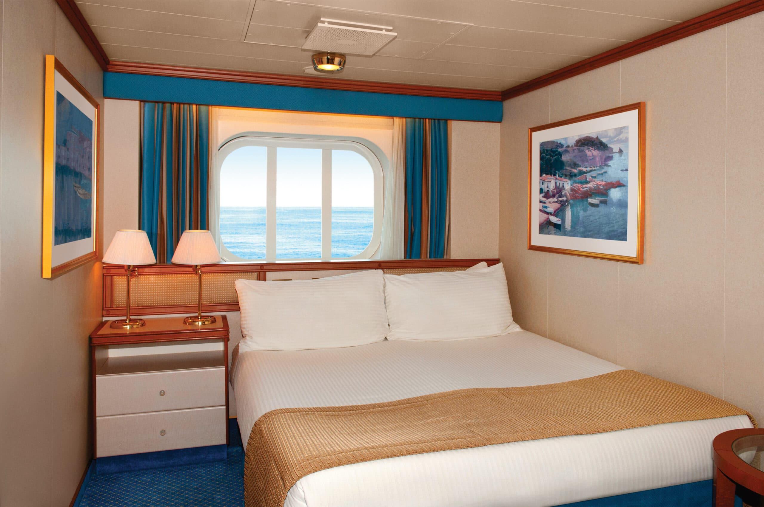 Princess-cruises-Crown-princess-schip-cruiseschip-categorie OB-OC-OE-OF-buitenhut
