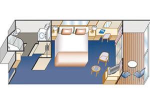 Princess-cruises-Crown-princess-schip-cruiseschip-categorie b1-b2-b4-ba-bb-bc-bd-be-bf-balkonhut-diagram