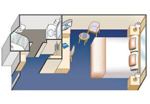 Princess-cruises-Crown-princess-schip-cruiseschip-categorie ia-ib-ic-id-ie-if-binnenhut-diagram