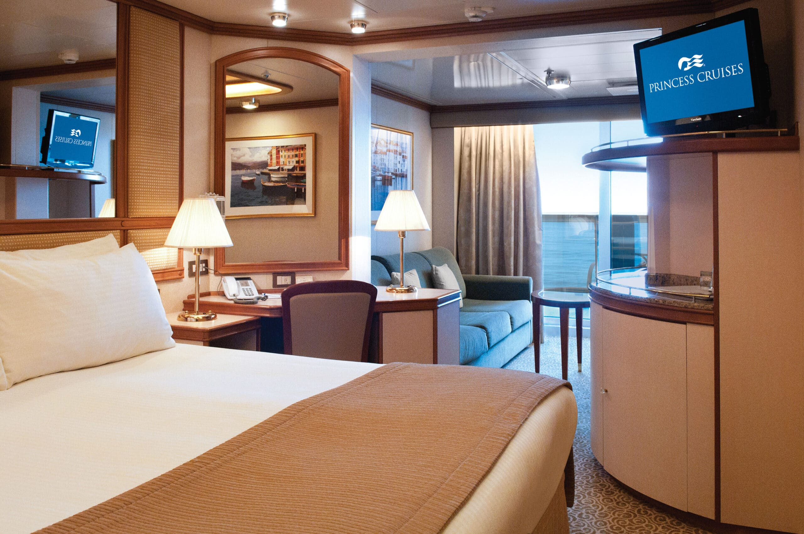 Princess-cruises-Crown-princess-schip-cruiseschip-categorie mb-md-me- minisuite met balkon