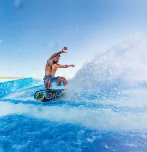 Royal-Caribbean-International-Cruiseschip-Cruise-Flowrider-Surfen-Grootste-Schip