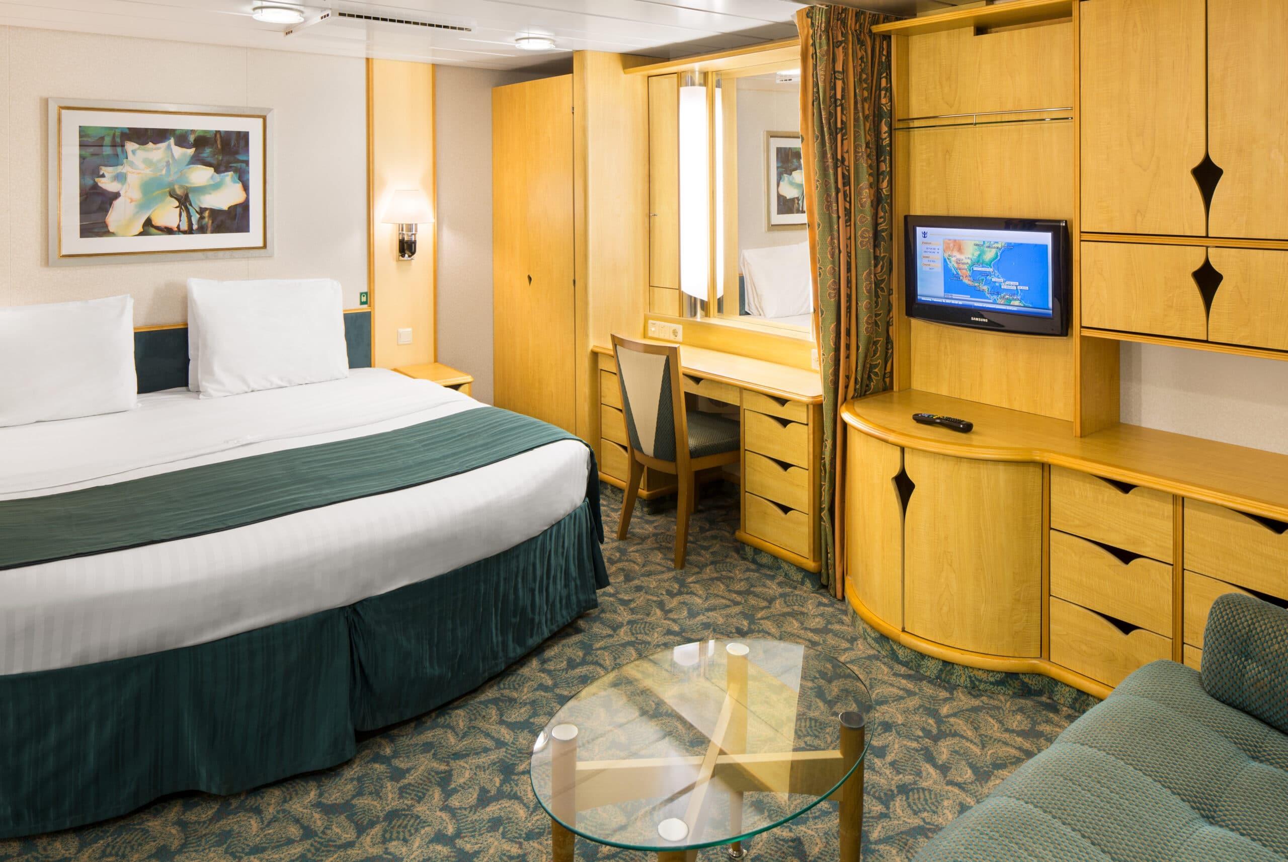 Royal-Caribbean-International-Freedom-of-the-Seas-Liberty-of-the Seas-Independence-of-the-seas-schip-cruiseschip-categorie 1R-ruime binnenhut