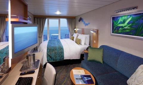 Royal-Caribbean-International-Allure-of-the-Seas-Oasis-of-the-seas-schip-cruiseschip-categorie 1C-2C-balkonhut-groot-balkon