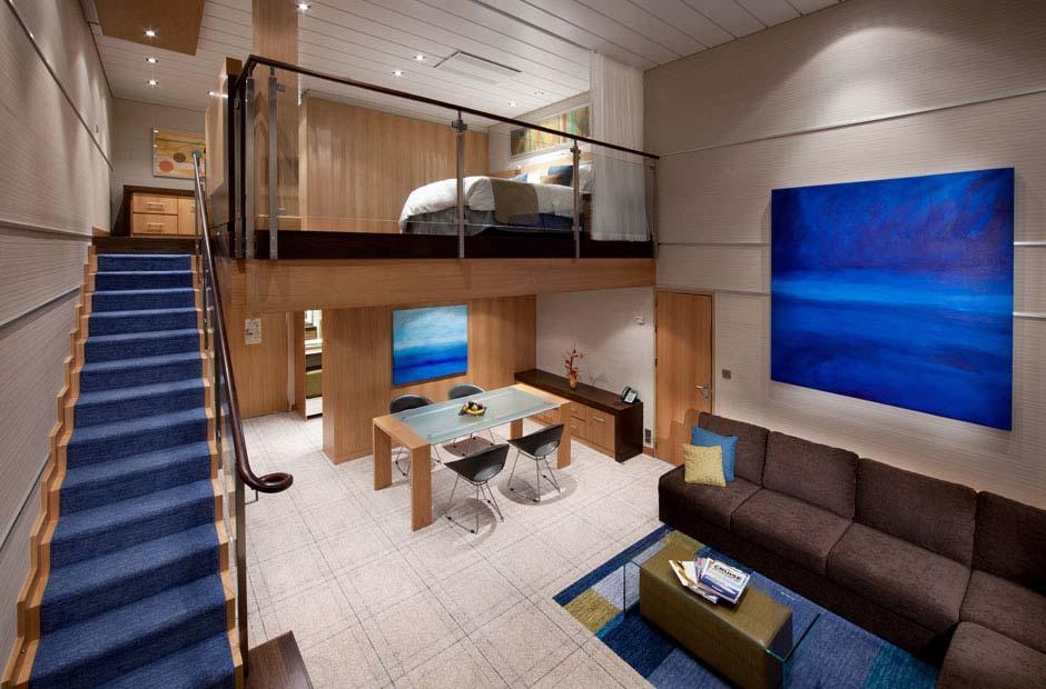 Royal-Caribbean-International-Allure-of-the-Seas-Oasis-of-the-seas-schip-cruiseschip-categorie TL-Star Loft Suite