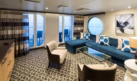 Royal-Caribbean-International-Anthem-Quantum-Ovation-Oddysey-of-the-seas-schip-cruiseschip-categorie GT-Grand-Suite-two bedroom