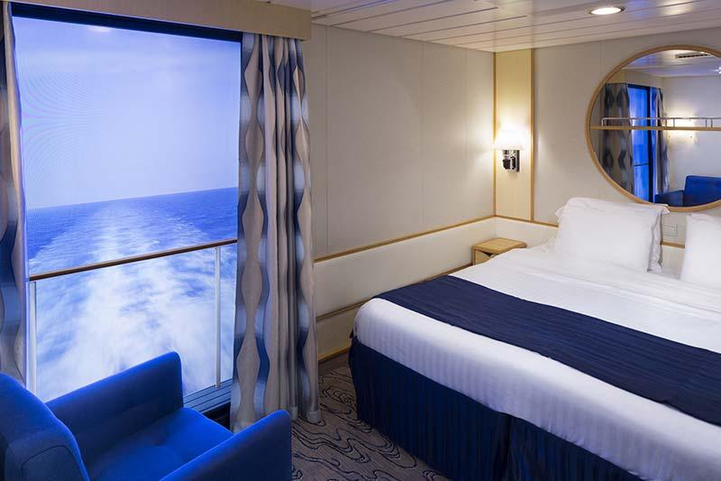 Royal-Caribbean-International-Explore-of-the-Seas-Mariner-of-the Seas-schip-cruiseschip-categorie 4U-binnenhut-virtual balkon