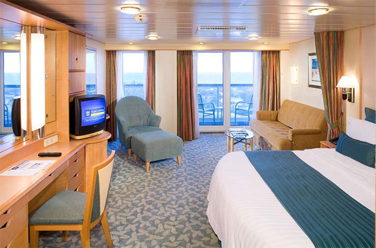 Royal-Caribbean-International-Explore-of-the-Seas-Mariner-of-the Seas-schip-cruiseschip-categorie J3-J4-junior suite