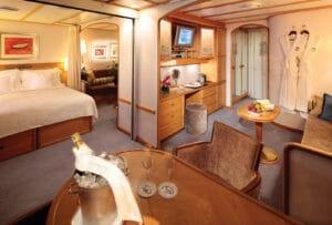 Seadream-Seadream-1-Seadream-2-schip-cruiseschip-categorie C2-C3-Commodore-Suite