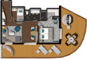TUI-Cruise-Mein Schiff 4-Mein Schiff 5-Mein Schiff 6-schip-Cruiseschip-categorie DS-Diamant Suite-diagram
