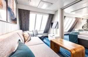 TUI Cruises-Mein Schiff 1-Mein Schiff 2-schip-Cruiseschip-categorie A-B-familie buitenhut