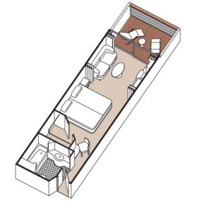 regent-seven-seas-seven-seas-mariner-schip-cruiseschip-categorie F-G-H-deluxe veranda suite-diagram