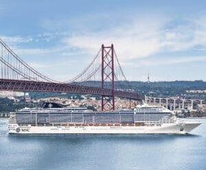 MSC Preziosa Cruiseschip Cruise San Fransisco