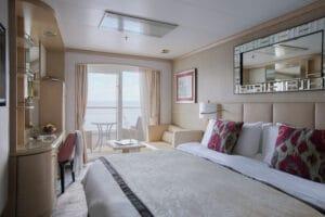 Crystal Cruises-Crystal Serenity-schip-Cruiseschip-Categorie A2-A3-A1-B2-deluxe balkonhut