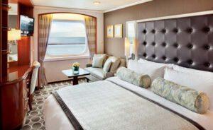 Crystal Cruises-Crystal Serenity-schip-Cruiseschip-Categorie C1-C2-C3-Deluxe Buitenhut