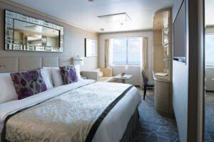 Crystal Cruises-Crystal Serenity-schip-Cruiseschip-Categorie C1-C2-D-E1-E2-deluxe buitenhut