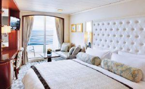 Crystal Cruises-Crystal Serenity-schip-Cruiseschip-Categorie P1-P2-A1-A2-B1-B2- B3-Deluxe Balkonhut