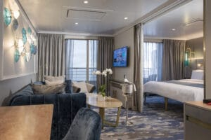 Crystal Cruises-Crystal Serenity-schip-Cruiseschip-Categorie SP-Seabreeze Penthouse Suite