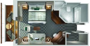 Crystal Cruises-Crystal Symphony-schip-Cruiseschip-Categorie PH-Penthouse-diagram