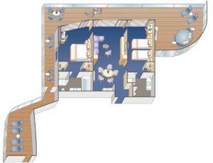 Princess-cruises-enchanted-sky-princess-schip-cruiseschip-categorie S0-Sky Suite-diagram