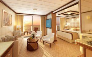 Princess-cruises-enchanted-sky-princess-schip-cruiseschip-categorie S3-S4-S2-Penthouse-Owner Suite