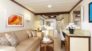 Princess-cruises-enchanted-sky-princess-schip-cruiseschip-categorie m6- premium minisuite