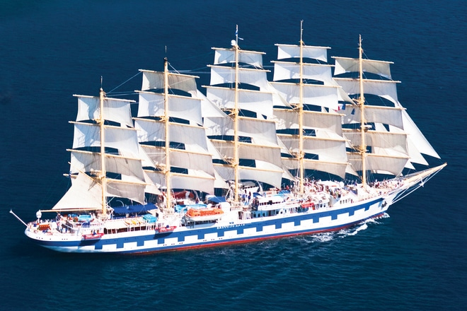 Starclippers-zeilschip-cruise