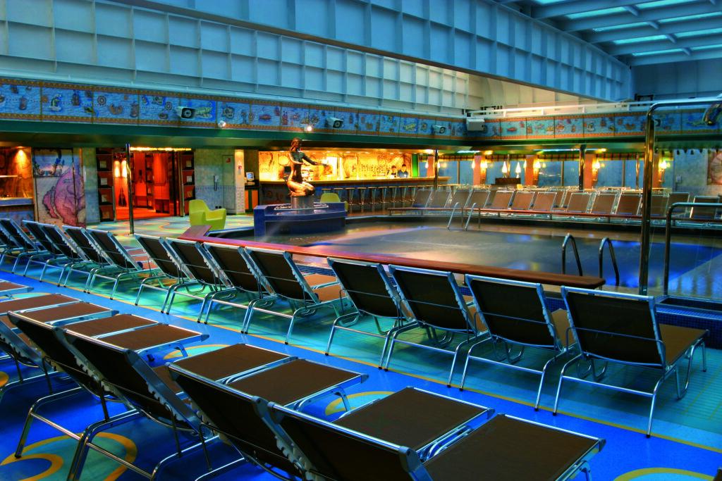 Cruiseschip-Costa Fortuna-Costa Cruises-Zwembad