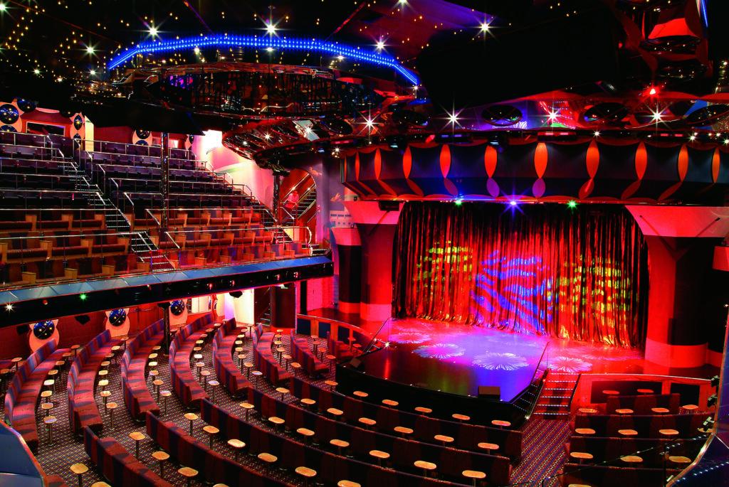 Cruiseschip-Costa Fortuna-Costa Cruises-Theater