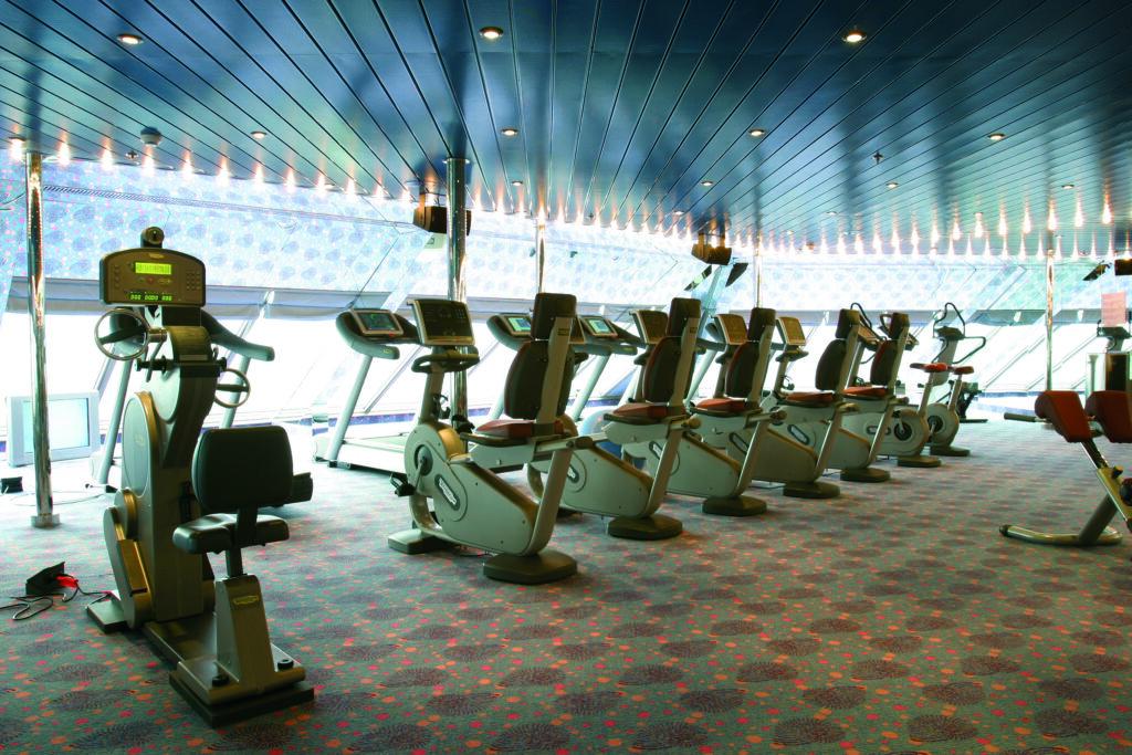 Cruiseschip-Costa Magica-Costa Cruises-Fitness Center