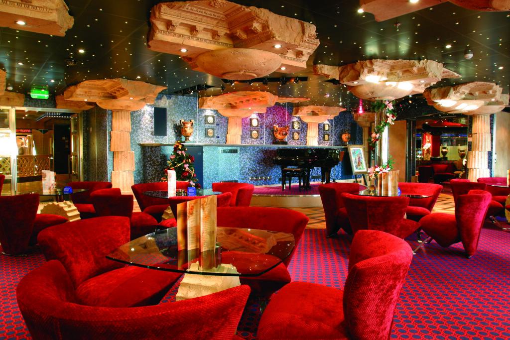 Cruiseschip-Costa Magica-Costa Cruises-Lounge