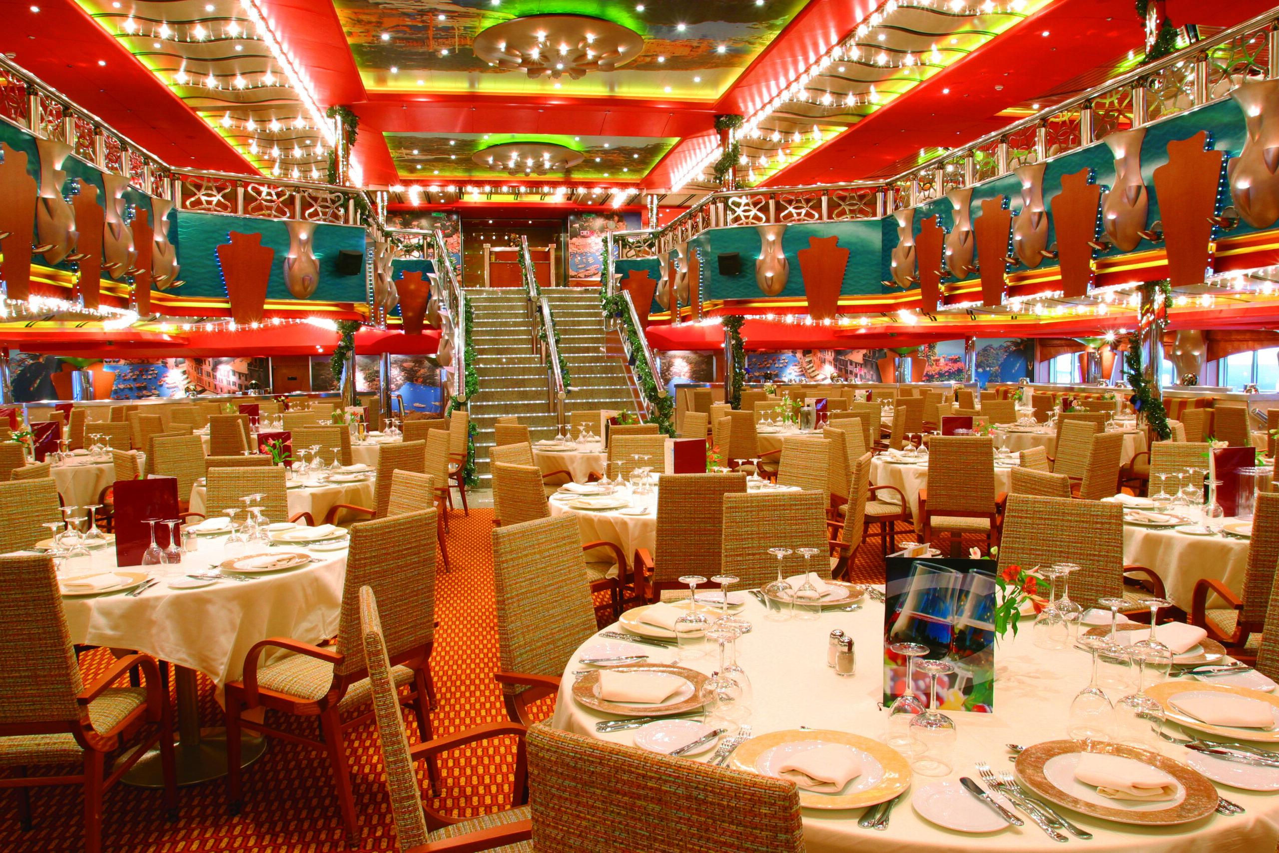 Cruiseschip-Costa Magica-Costa Cruises-Restaurant