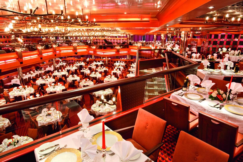 Cruiseschip-Costa Pacifica-Costa Cruises-Restaurant