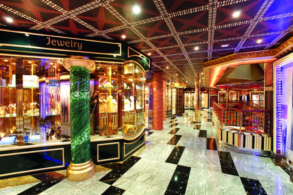 Cruiseschip-Costa Pacifica-Costa Cruises-Shops