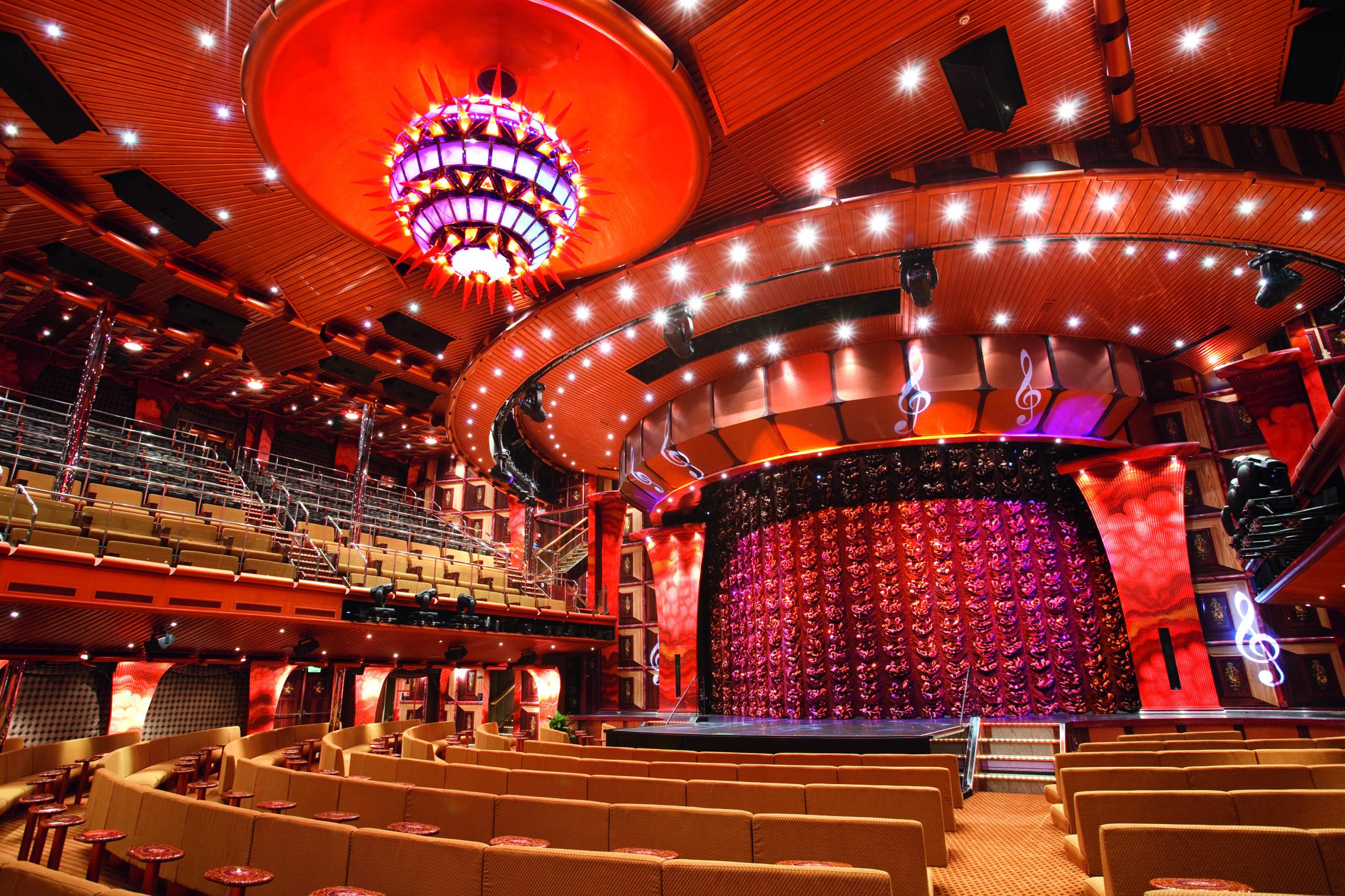 Cruiseschip-Costa Pacifica-Costa Cruises-Theater