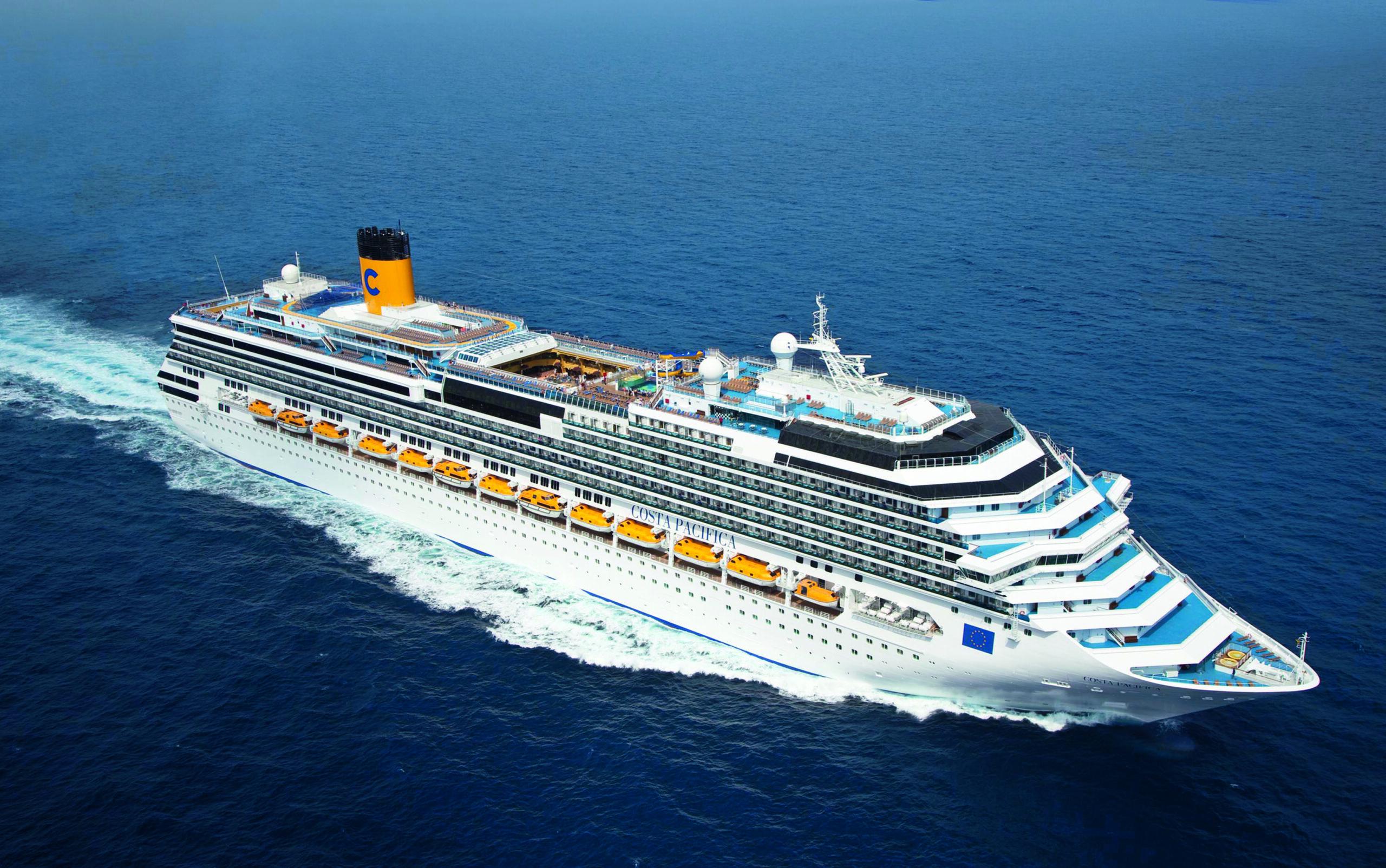 Cruiseschip-Costa Pacifica-Costa Cruises-Schip