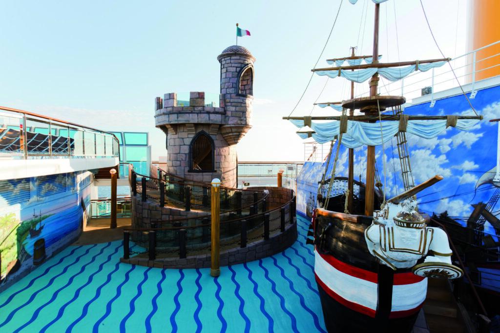 Cruiseschip-Costa Favolosa-Costa Cruises-KidsClub