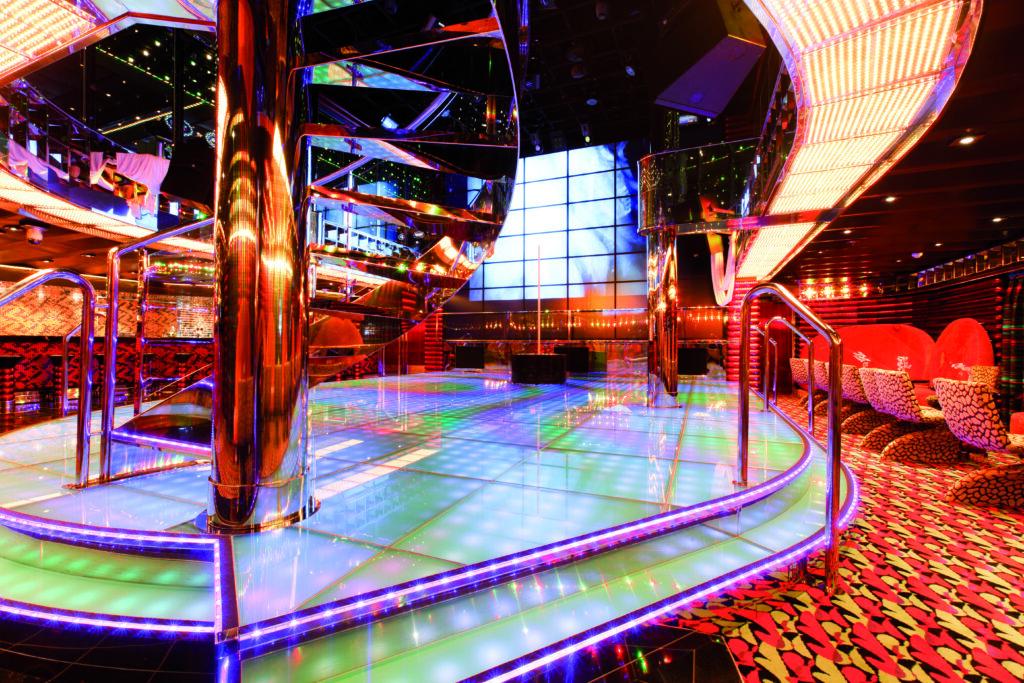 Cruiseschip-Costa Favolosa-Costa Cruises-Disco
