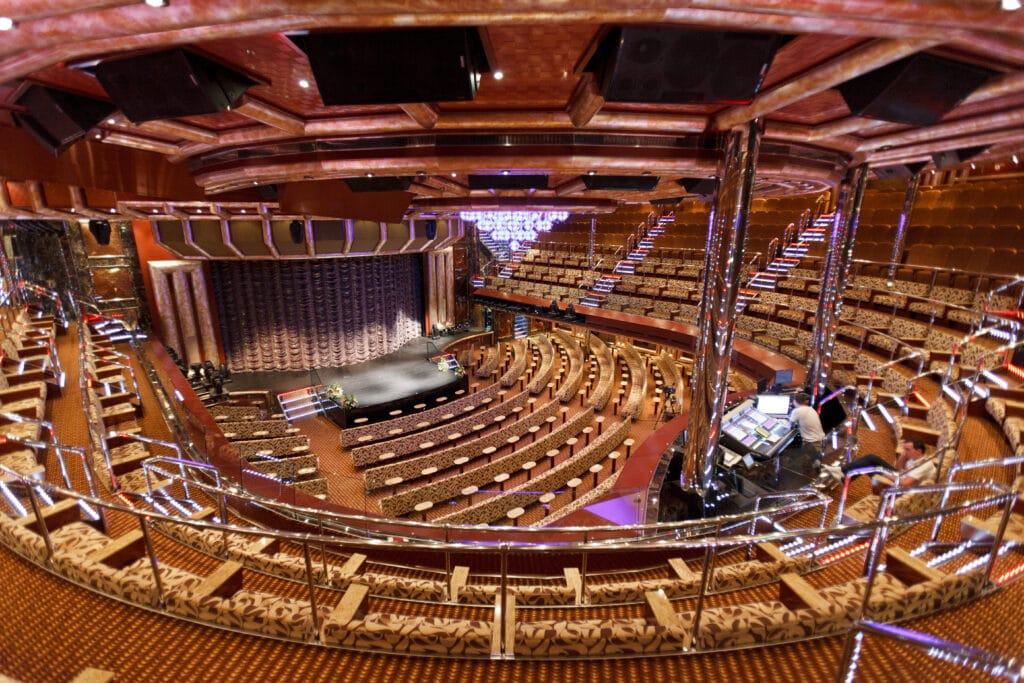 Cruiseschip-Costa Favolosa-Costa Cruises-Theater
