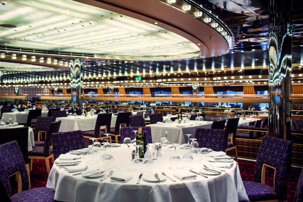 Cruiseschip-Costa Diadema-Costa Cruises-Restaurant