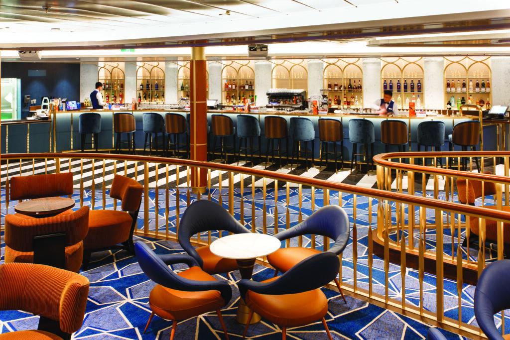 Cruiseschip-Costa Toscana-Costa Cruises-Bar Lounge